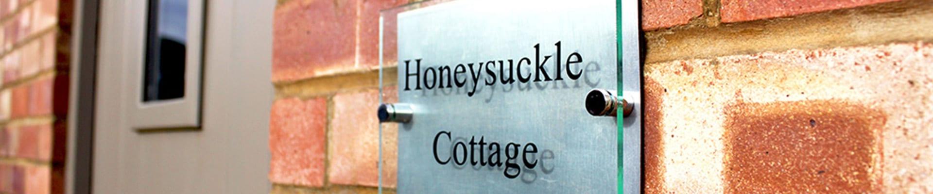 Honeysuckle Cottage Banner
